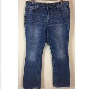 Mossimo Jeans Size 14 Short Curvy Fit Bootcut